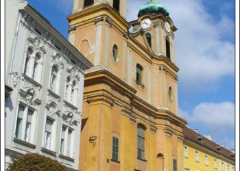 Székesfehérvár ciszterci templom