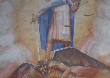 Sopronbánfalva freskó