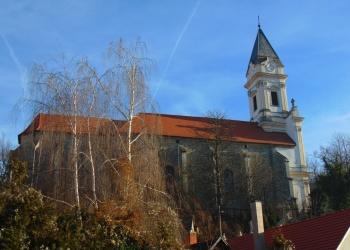 A sopronbánafalvai pálos templom napjainkban