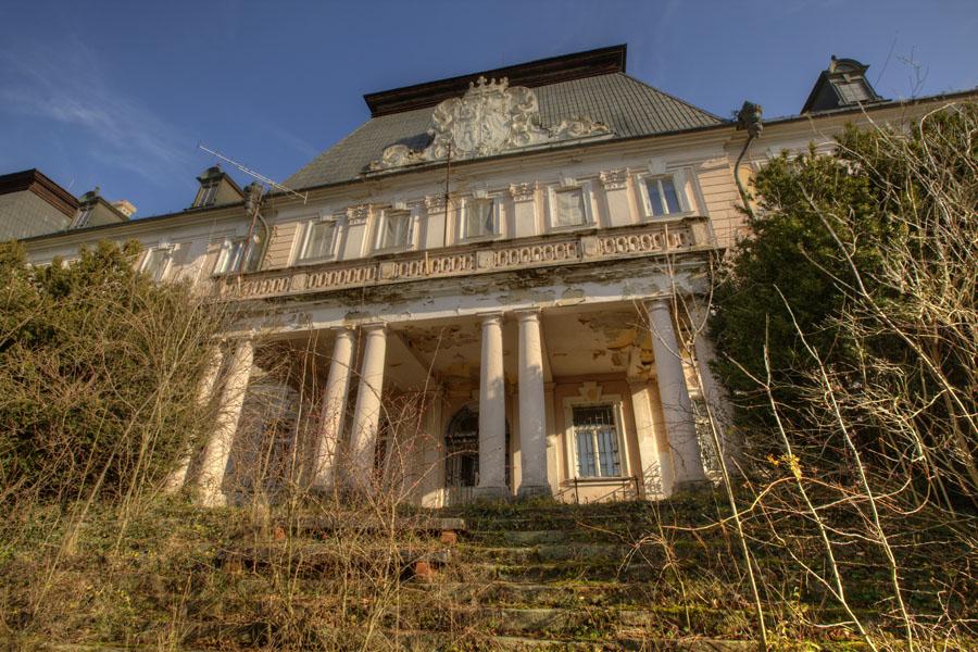 A felsőelefánti pálos kolostorból lett kastély napjainkban… (Fotó: Jan Dudas, flickriver.com)