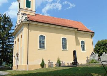 Pilisszentlászló temploma