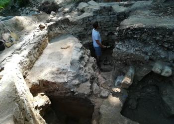 Vállus 2018-as ásatás