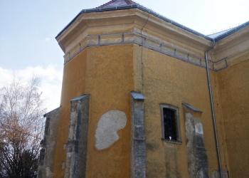 Vértesacsa templomának poligonális szentélye