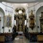 A templombelső (Fotó: Hotel Villa Classica)