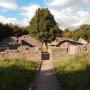 A jakabhegyi pálos kolostor romjai napjainkban