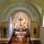 Pilisszentkereszt templombelső