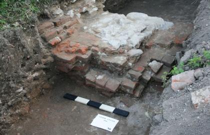 Régészeti ásatás Szentjobbon 2016-ban (Fotó: varad.org)