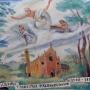 A tüskevári római katolikus templom freskója