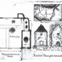 Ádám Iván rajza a tálodi romokról