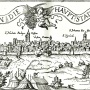 Buda 1541-ben Siebmacher Jánosnak a Meldeman-féle távlati képe után 1580 körül készült rézkarcza