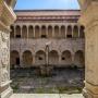 Fotó a pálos kolostor kerengőjéből az udvarra (Fotó: Središnja Istra)
