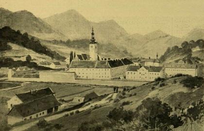 A lepoglavai pálos kolostor 1526 előtt (Forrás: keptar.oszk.hu)
