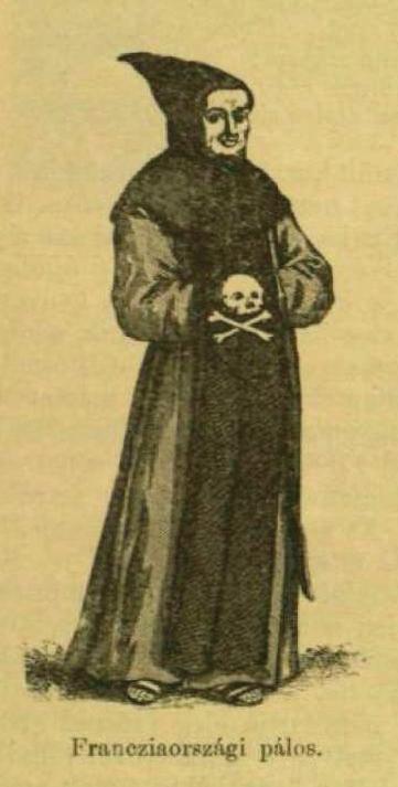 A francia pálosok ruhája (Forrás: Vasárnapi Ujság, 1897. február 7.)