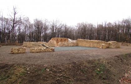 A zlatkagorai pálos kolostor a feltárás és rekonstrukció után (Forrás: tz-vojnic.hr)