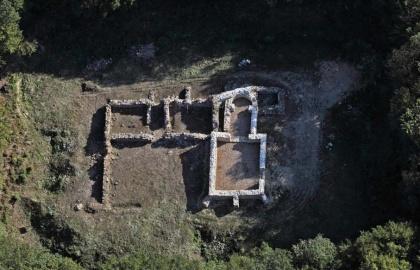 A zlatkagorai kolostor a rekonstrukció után (Forrás: tz-vojnic.hr)