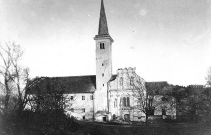 A kolostor az 1880. november 9-ei földrengés után (Forrás: Dragan DAMJANOVIĆ)