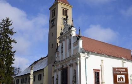 A remetei templom és kolostor napjainkban (Fotó: crkve.klajo-blog.com)