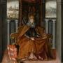 Szent László királyról készült festmény (1637–1656) a Magyar Nemzeti Galériában