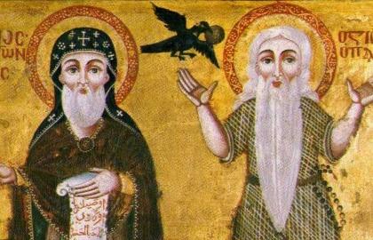 Remete Szent Antal és Remete Szent Pál