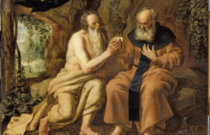 Diego Velazquez: Remete Szent Antal és Remete Szent Pál