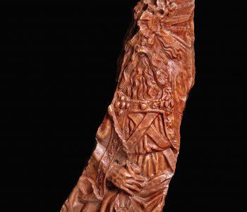 Az Atyaistent ábrázoló dombormű töredéke (Fotó: Budapesti Történeti Múzeum, Tihanyi Bence)